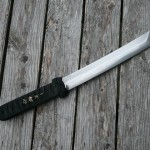 17 inch tanto, 10.5 inch blade RIP500