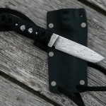 7.5 inch neck knife, 3.5 inch blade